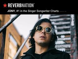 JONY Named #1 Singer Songwriter by ReverbNation